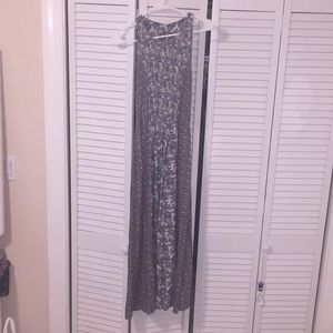 Hippie dress paisley and floral